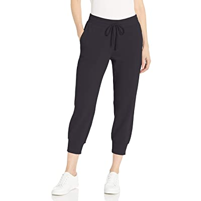 Essentials Women's French Terry Fleece Capri Jogger Sweatpant: Clothing