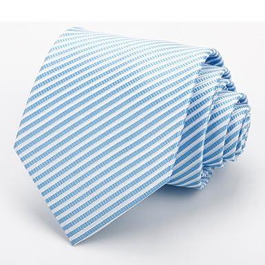 DW&HX Corbata clásica raya Corbata para hombre, Iglesias y los ...