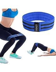 Doact 1 pcs Bandas de Resistencia para Hombres y Mujeres, Pilates Exercise Band Set para