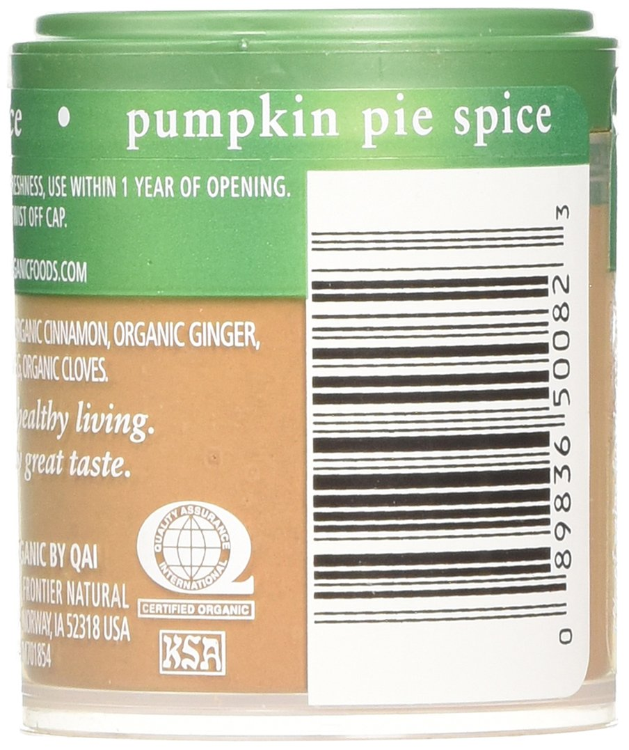 Simply Organic Mini, Og, Pumkin Pie Spice, 0.46-Ounce (Pack of 6) by Simply Organic (Image #4)