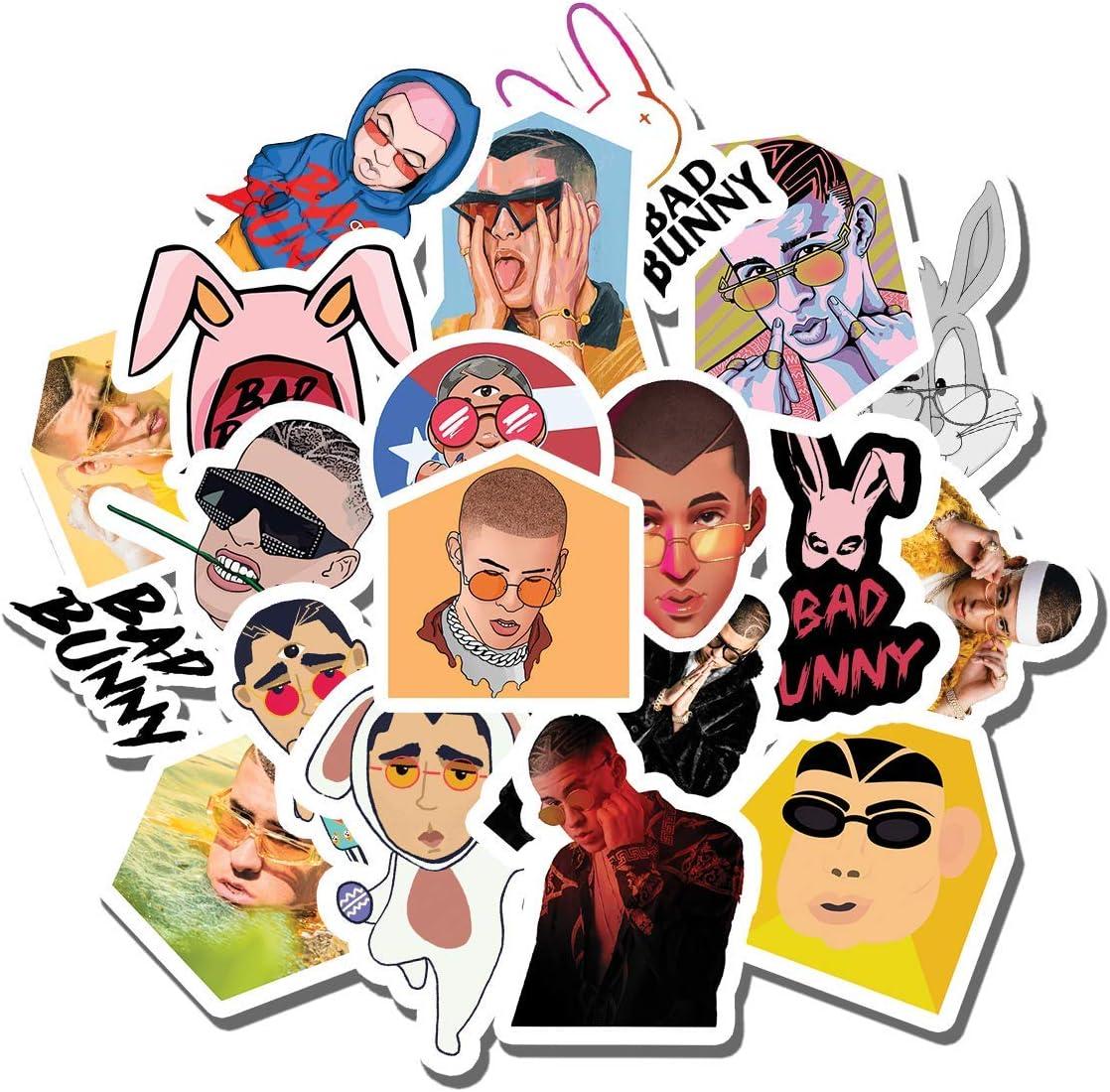 Amazon Com 20 Pcs Stickers Pack Bad Bunny Aesthetic Vinyl