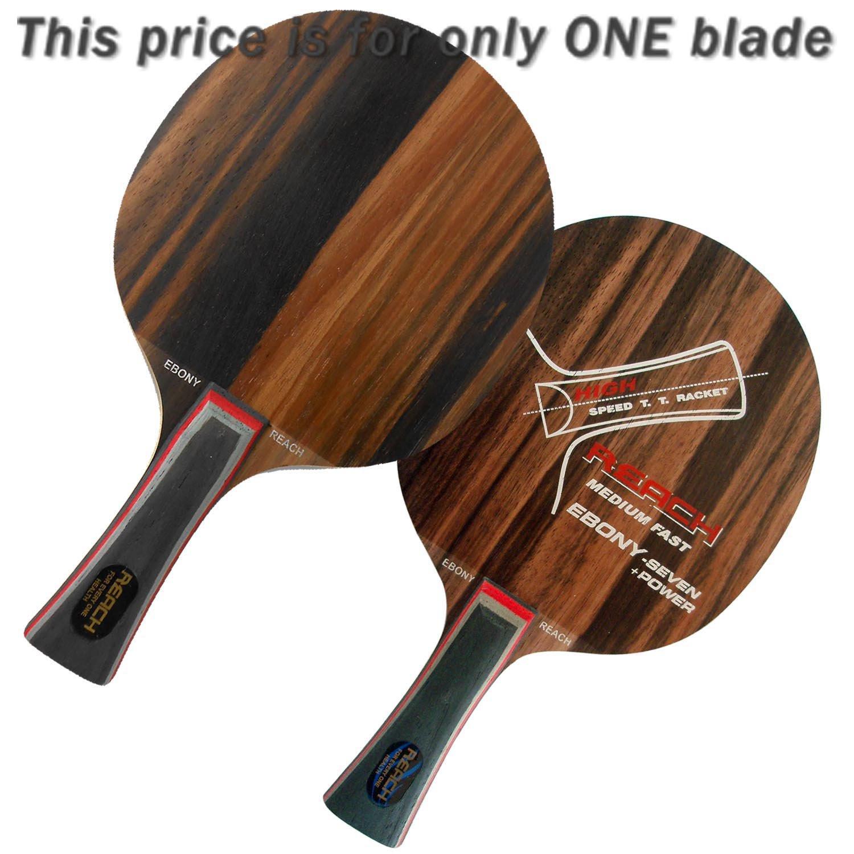 Reach ebony-7 +電源Medium Fast Fl Table Tennisブレード B00RE01E4K