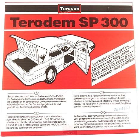 Teroson 150054 Schalldämmmatten 100 X 50 Cm Auto