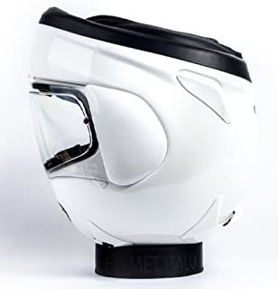 ed8e1a88 Orange Cycle Parts Black Portable Motorcycle Helmet Stand for Motorcycle,  Dirtbike, ATV, Scooter