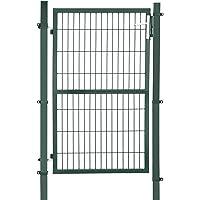 SONGMICS GGD200L - Puerta para jardín (Acero galvanizado
