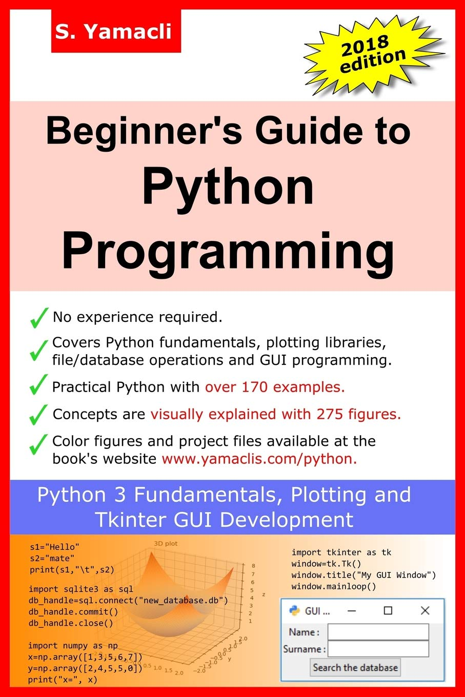 Beginner's Guide to Python Programming: Learn Python 3