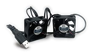 Coolerguys Dual USB Fans (Dual 50mm)