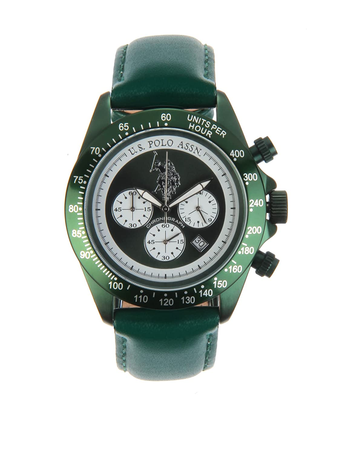 US Polo Association   -Armbanduhr  Chronograph    USP4058GR_GR