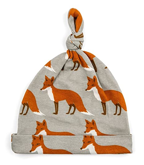 9deea88d7 Amazon.com  MilkBarn Organic Cotton Knotted Hat - Orange Fox  Clothing