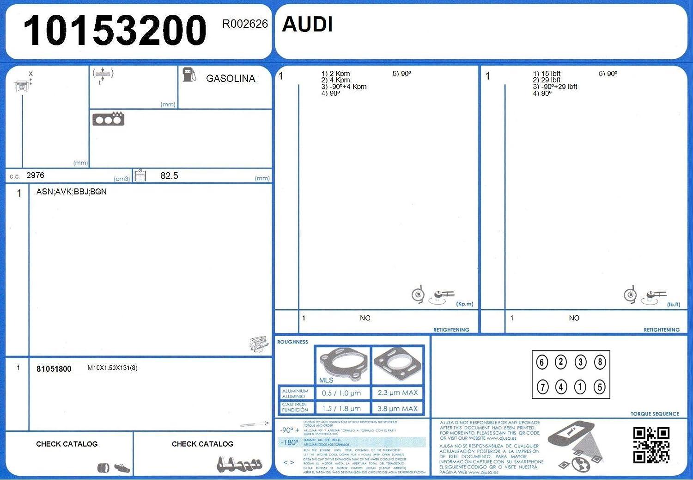 AJUSA 81051800 Zylinderkopfschraubensatz