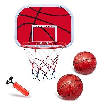 Amazon.com: BESTTY Mini juego de aros de baloncesto, tabla ...