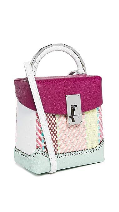 03cf3d573c42 THE VOLON Women s Rattan Box Bag