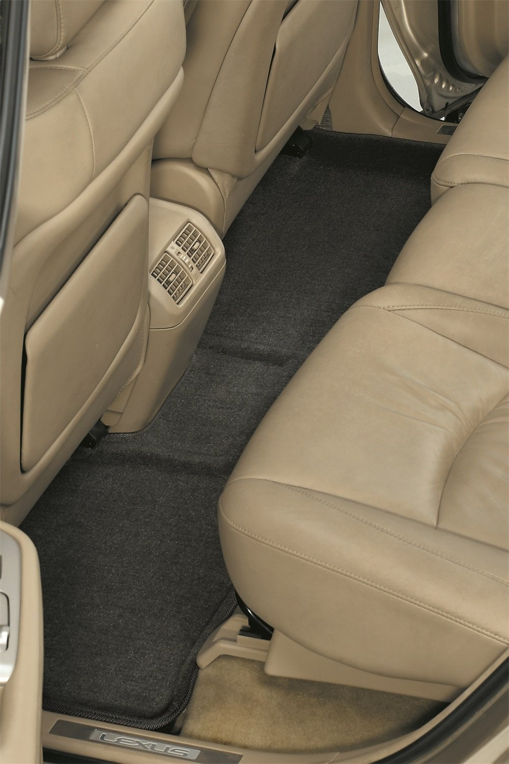 3D MAXpider Front Row Custom Fit Floor Mat for Select Pontiac Vibe//Toyota Corolla Models L1PA00112202 Tan Classic Carpet