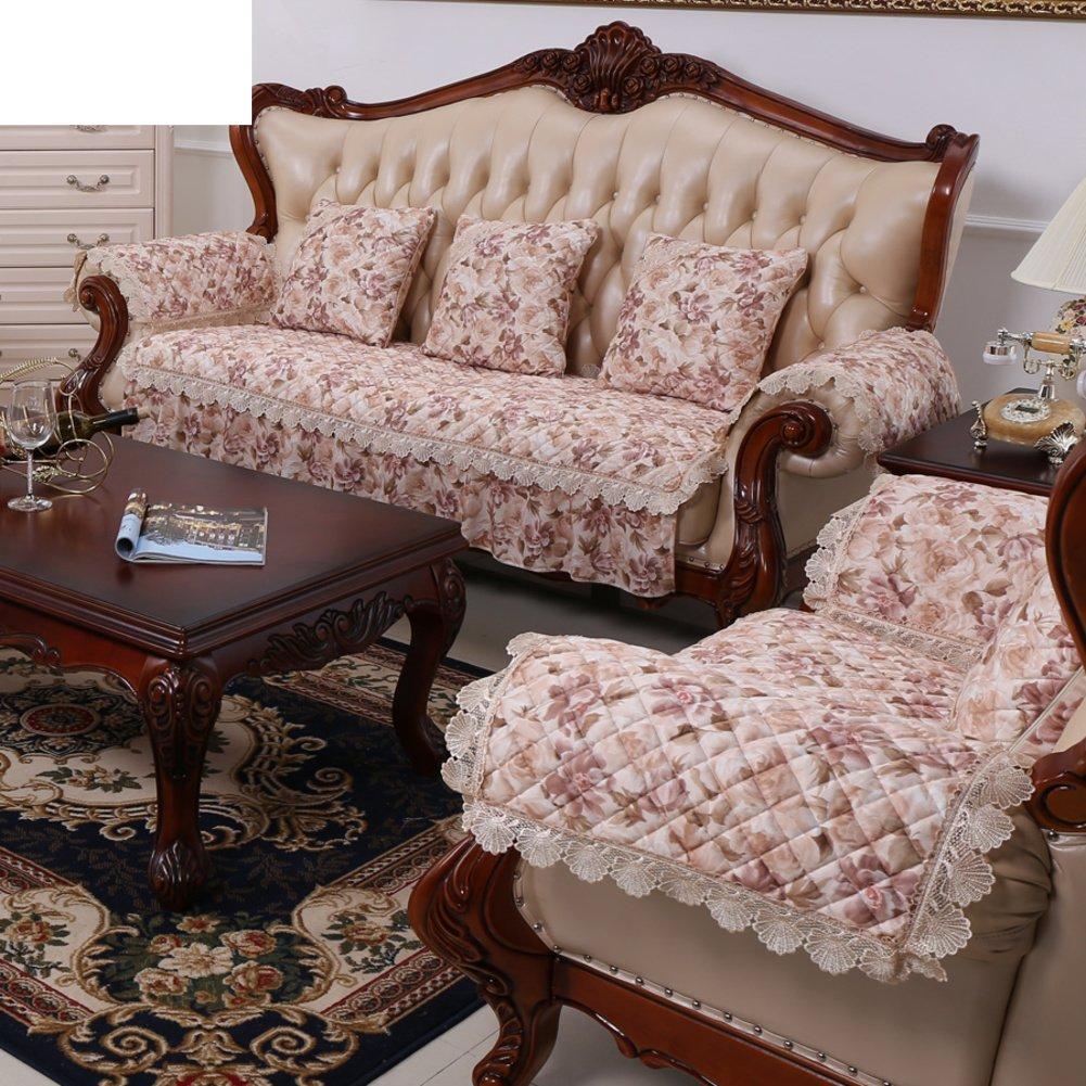 Amazon Com Gdjvxcfv European Style Sofa Cushions Fabric Leather