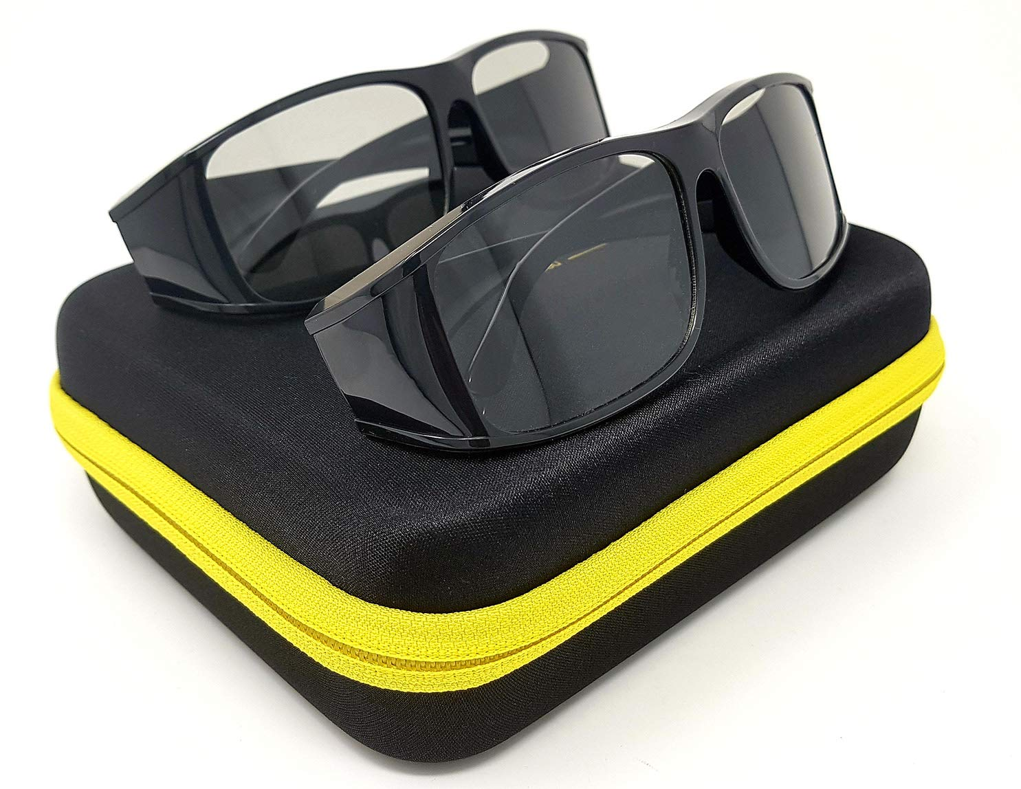 TALLA 2x «passiv 3D Gafas». Hi-SHOCK® 2 pares universal pasivo 3D gafas para todos pasivo 4k 3D TVs & RealD Cine películas. alta calidad polarizada gafas para Sony®, LG®, Hisense®, Grundig®, Pansonic®, Philips®, Toshiba® televisión.