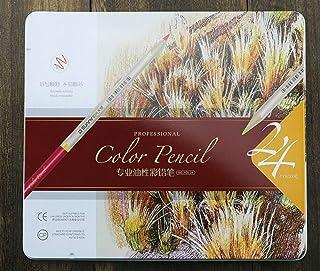 Uso dell'allievo della cancelleria della scuola 24 matite colorate di arte per il disegno adulto dei libri da colorare WeieW