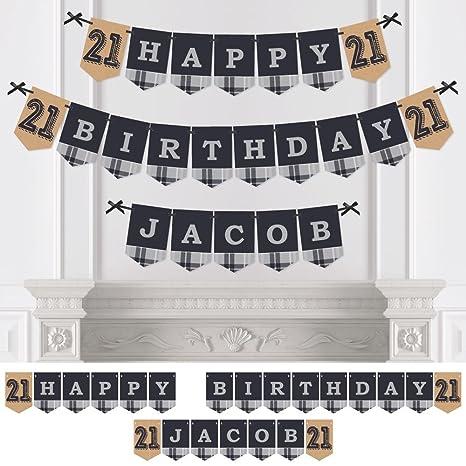 amazon com custom finally 21 personalized 21st birthday party