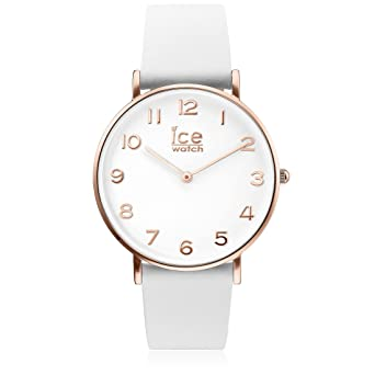 aa5a5ba04bebaf Ice-Watch - CITY tanner White Rose-Gold - Montre blanche pour femme avec