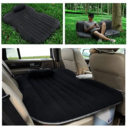 Amazon.com: ASJ coche colchón inflable cama hinchable ...
