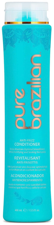 PURE BRAZILIAN Anti-Frizz Daily Conditioner, 13.5 Oz