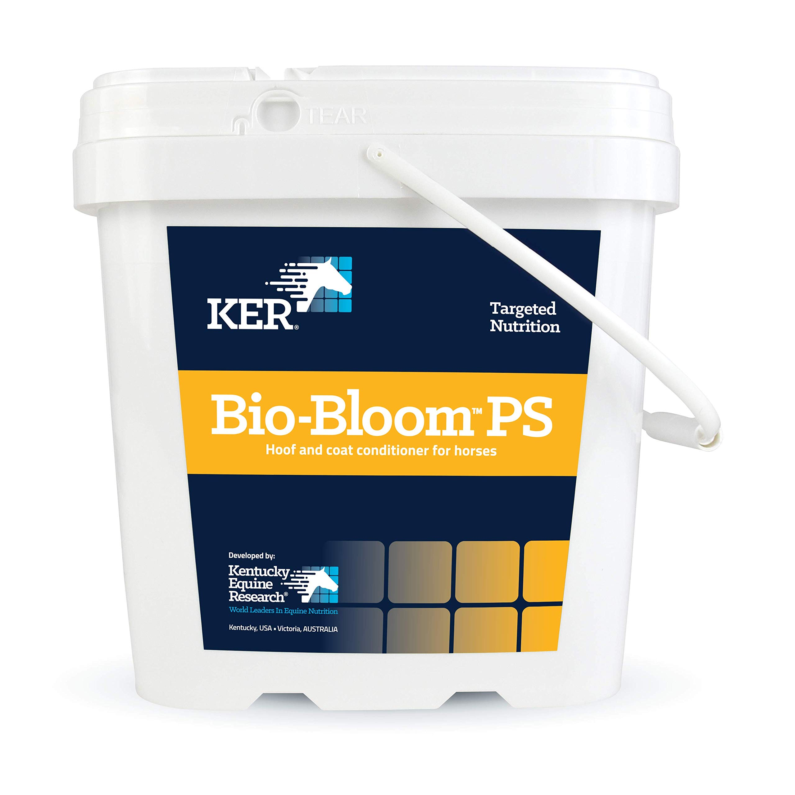 Kentucky Equine Research Bio-Bloom PS: Hoof and Coat Supplement for Horses, 2 kg (66 Servings) by Kentucky Equine Research