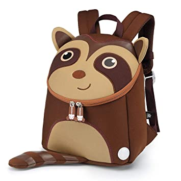 9e671d35b935 Nikizoo Toddler Backpack with Leash Lovely Kids Preschool Bag Anti-Lost  Adorable 3D Cartoon Baby