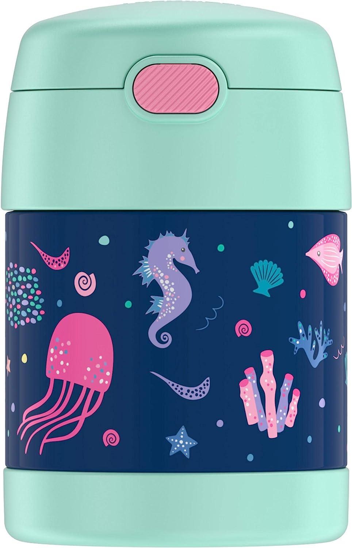 Thermos Funtainer 10 Ounce Food Jar, Mermaid