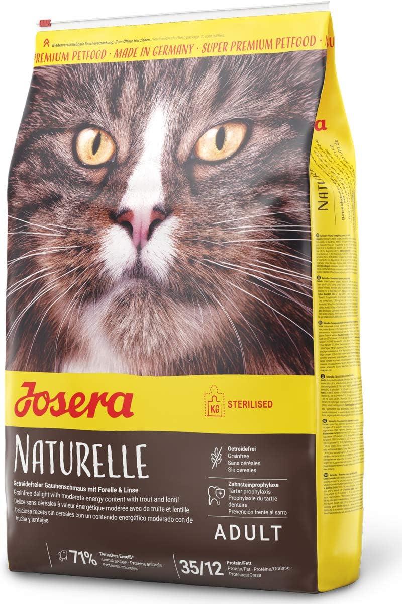 JOSERA Saco de comida para Gato Naturelle, 10kg, Gato