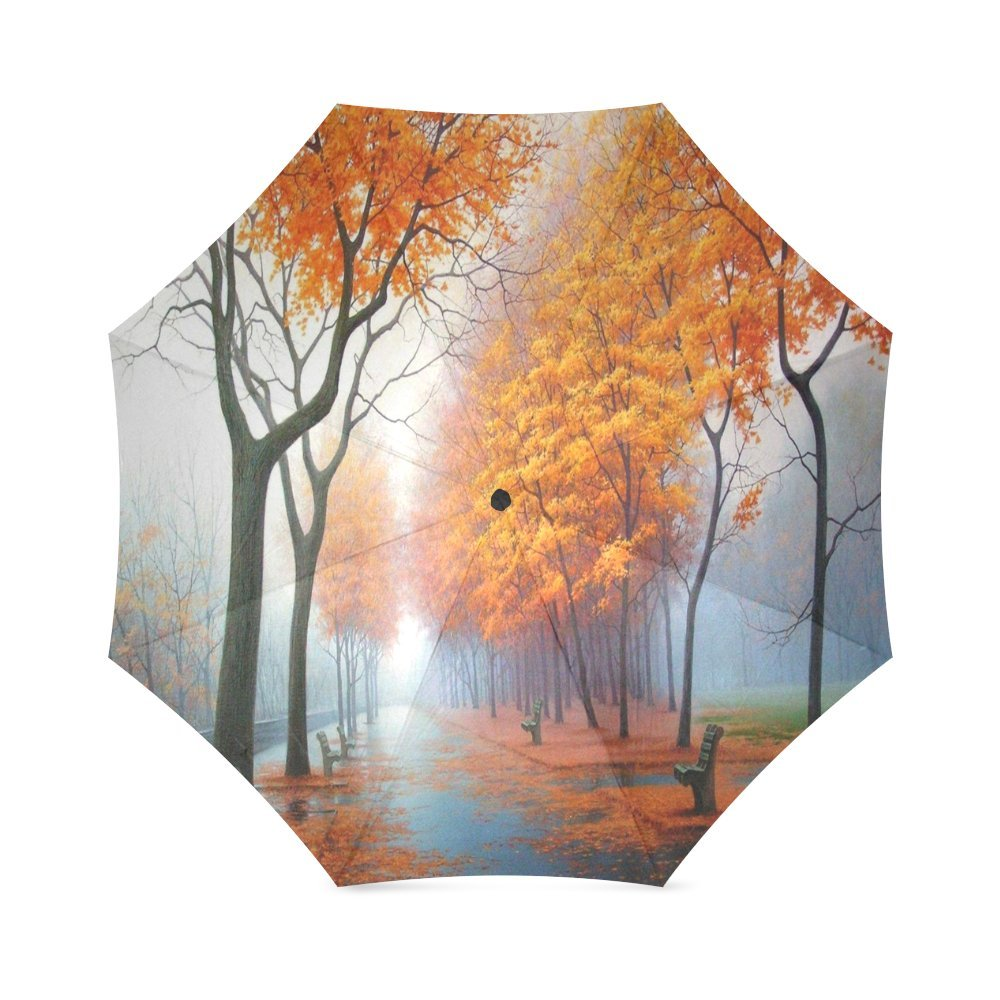 Custom Colorful Elephant Compact Travel Windproof Rainproof Foldable Umbrella