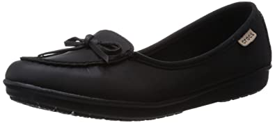 Crocs Wrap ColorLite, Women's Ballet Flats, Black, 4 UK