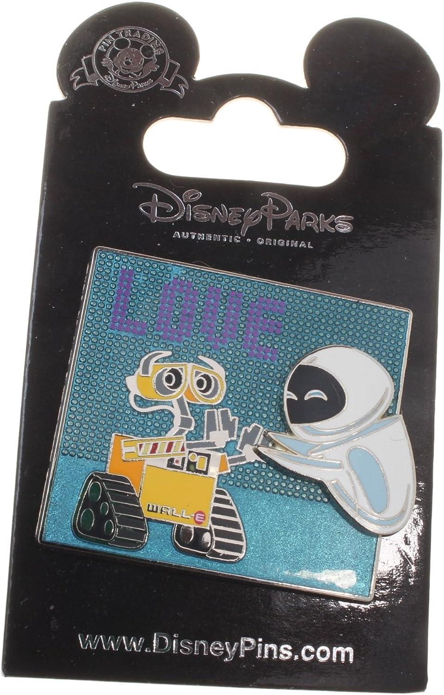 Disney Wall-E and Eve Love Pin