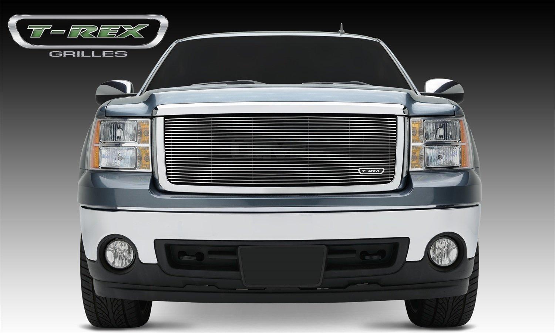 T-Rex Grilles 20204 Horizontal Aluminum Polished Finish Billet Grille Insert for GMC Sierra