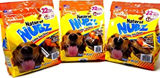product image for Nylabone Natural Nubz Edible Dog Chews Value Pack of 66ct. / 7.8 lbs. Total (3 x 2.6 lb / 22 ct Bags)