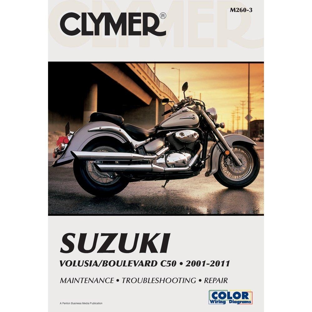 Amazon.com: Clymer Suzuki Volusia/Boulevard C50 (2001-2011) (53040):  Automotive