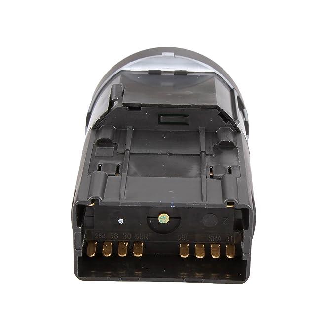 Dromedary coche cabeza niebla luz interruptor de los faros para 8E0941531/A