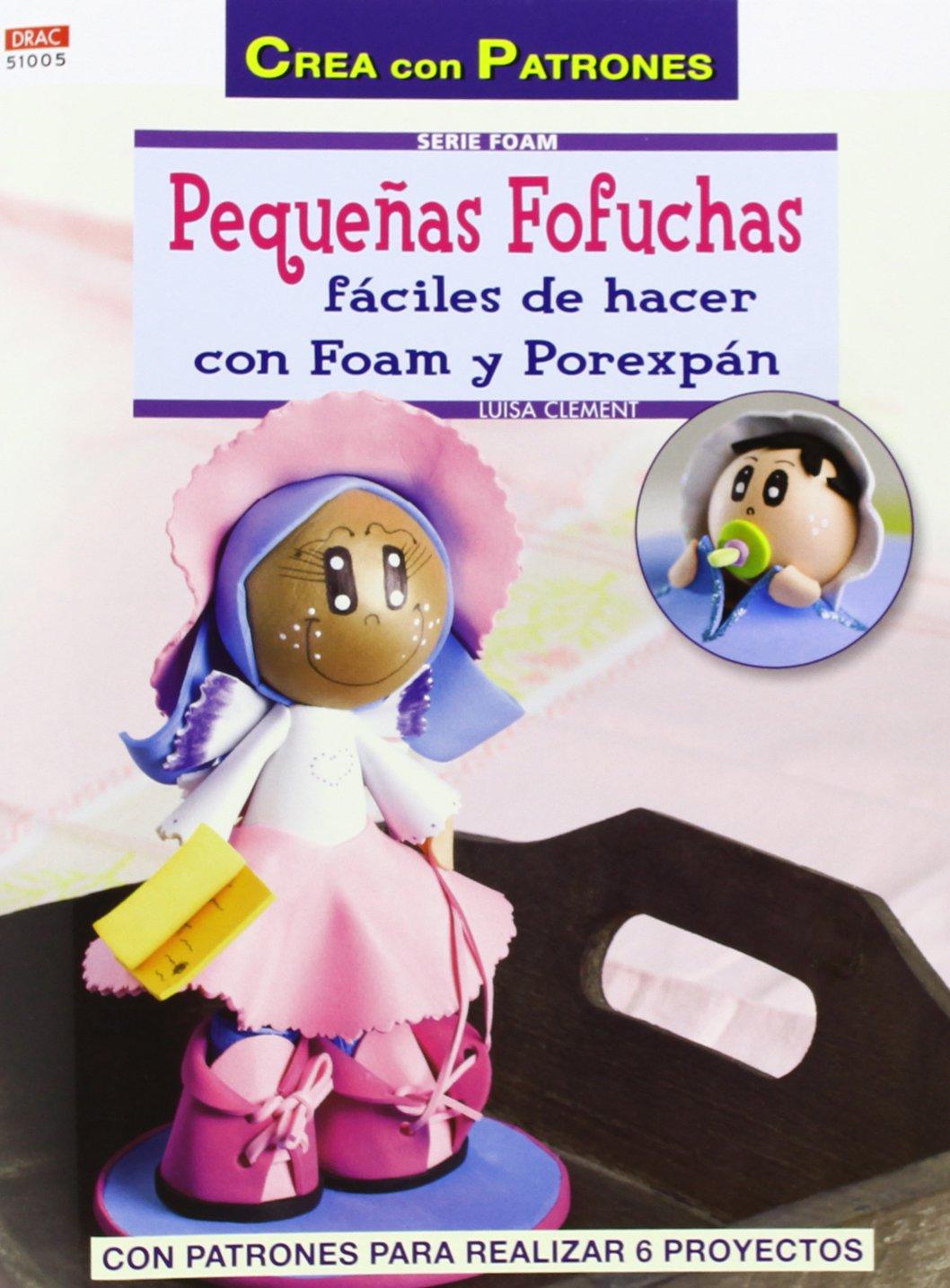 Amazon Fr Pequenas Fofuchas Faciles De Hacer Con Foam Y