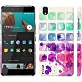 Noise OnePlus X Case/Back Cover + Free Tempered Glass, Noise Designer Premium PolyCarbonate Case Back Cover for OnePlus X [Slim fit, scratch & impact resistant MATTE finish] + Free Premium Tempered Glass (HD) - Screenguard (Color Tray)