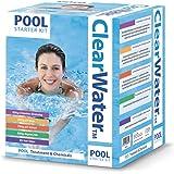 Kit Per Piscina Prodotti Chimici Clearwater - Bianco, 500g