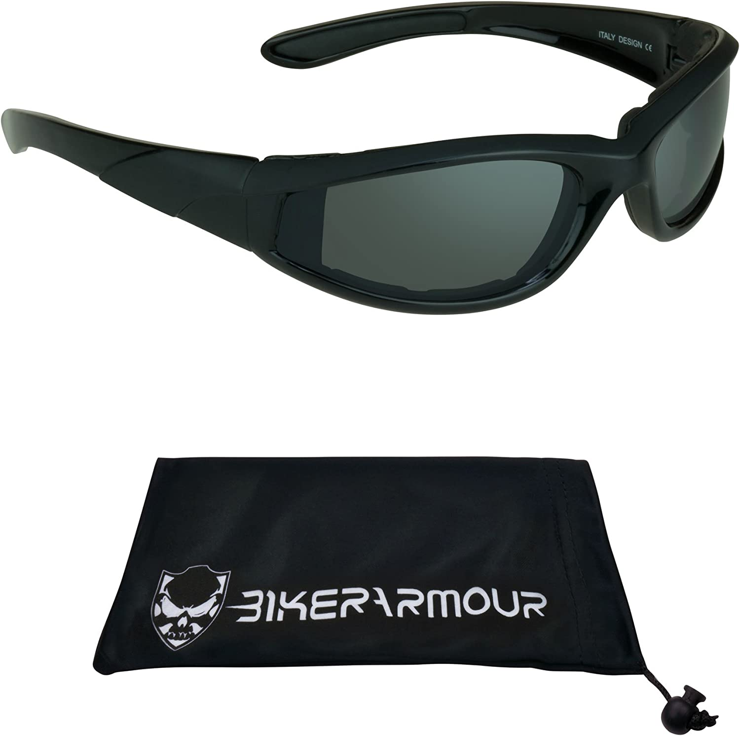 Motorcycle Riding Glasses Foam Padded 2 pairs combo special