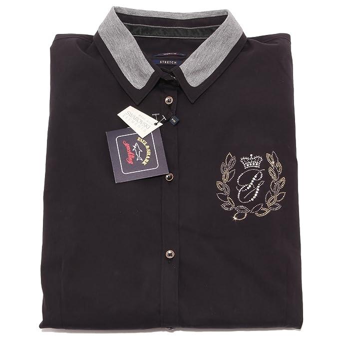 PAUL & SHARK - Camisas - para mujer negro 48: Amazon.es: Ropa y accesorios