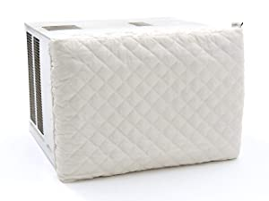 Covermates – Air Conditioner Cover – 28W x 2.5D x 20H  – Diamond Collection – 2 YR Warranty – Year Around Protection- Cream