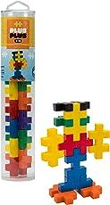 Plus-Plus BIG - Preschool Construction Building Toy, Open Play Tube - 15 Piece - Basic Color Mix