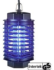 Gardigo - Lampara Mata-Insectos Electrico Mata Moscas; con Luz Ultravioleta Anti-Polillas