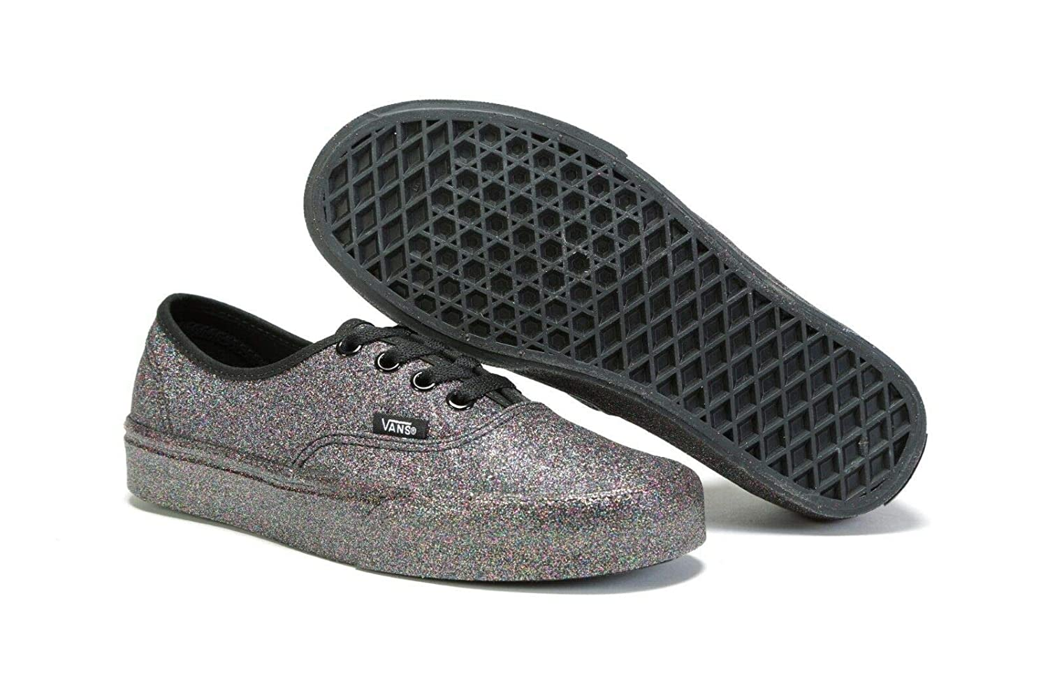 [バンズ] スニーカー Women's AUTHENTIC (Pig Suede) VN0A38EMU5O レディース B07NCN3993 Rainbow Glitter 9 M US Women / 7.5 M US Men 9 M US Women / 7.5 M US Men|Rainbow Glitter