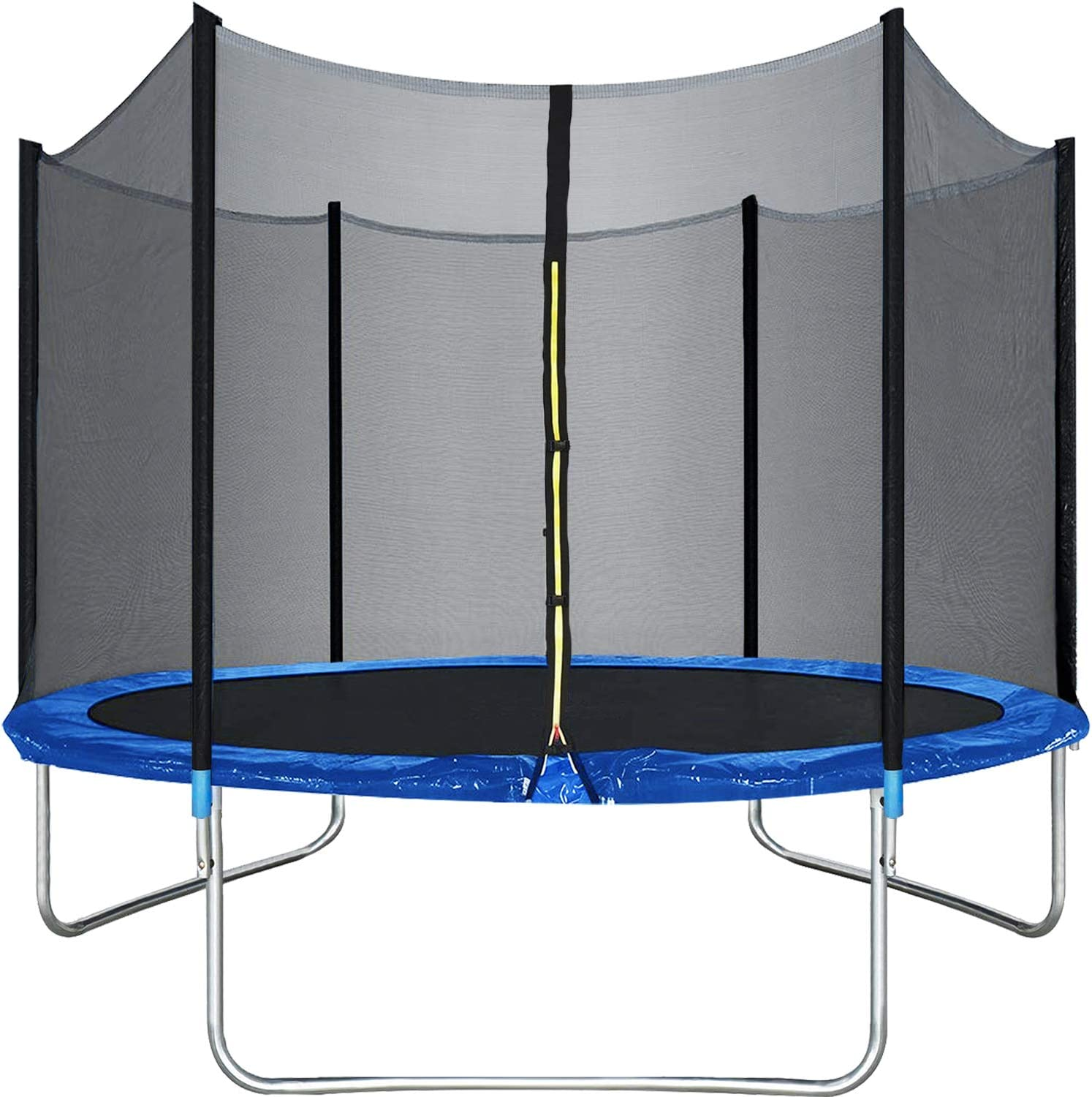 Trampoline Round Jumping Table with Safety Enclosure Net Sping Pad Combo Bounding Bed Trampoline Fitness Equipment