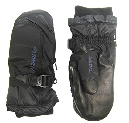 mittens gloves leather toaster swany snowboarding online ski mitt black x board ii mens cell snow skiing mitten brands