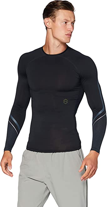 Under Armour Mens Ua Rush ColdGear Run Sweatshirt with Half Zip Jersey Long Sleeves