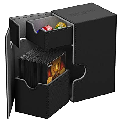 Ultimate Guard Db: Flip N Tray Xenoskin Black Cards: Toys & Games [5Bkhe1405005]