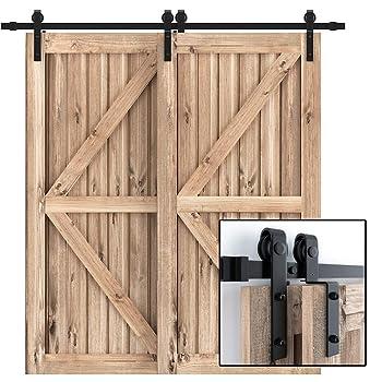 WINSOON 8FT Barn Door Hardware Kit