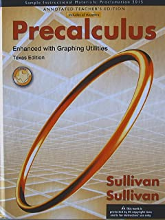 Precalculus enhanced with graphing utilities 6th edition michael precalculus enhanced with graphing utilities texas annotated teachers edition fandeluxe Images